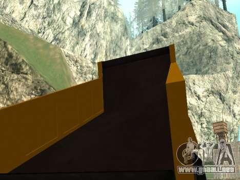 Dumper nuevo para la vista superior GTA San Andreas