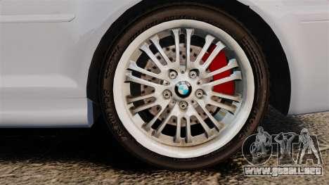 BMW M3 E46 v1.1 para GTA 4 vista hacia atrás