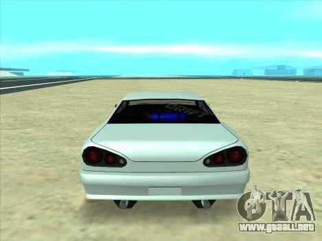 Drift elegy by KaMuKaD3e para GTA San Andreas vista hacia atrás
