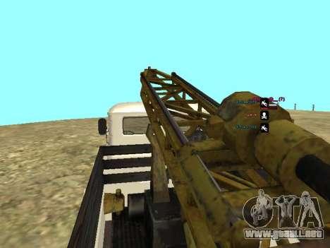 Perforación de gas 66 para vista inferior GTA San Andreas