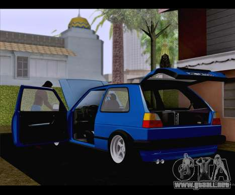 Volkswagen Golf Mk2 para GTA San Andreas left