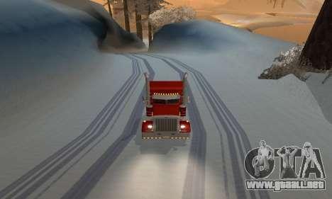 Invierno mod para SA: MP para GTA San Andreas tercera pantalla
