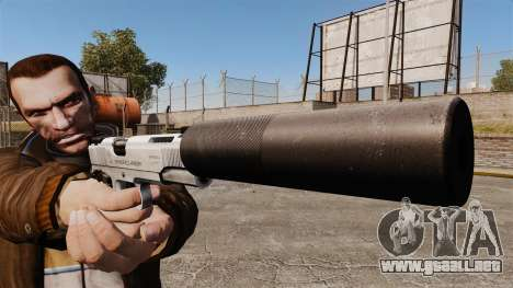 Pistola Colt 1911 para GTA 4 tercera pantalla