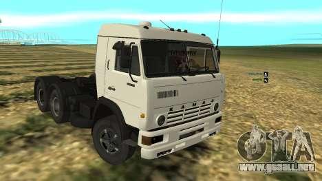 KAMAZ-54112 para GTA San Andreas