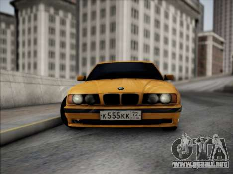 BMW M5 E34 para visión interna GTA San Andreas