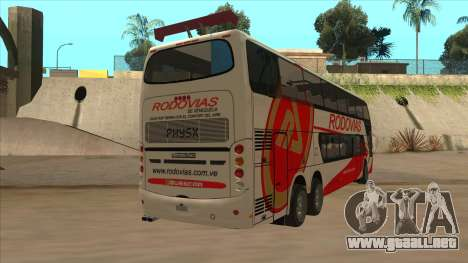 Marcopolo DD800 v3 para la visión correcta GTA San Andreas