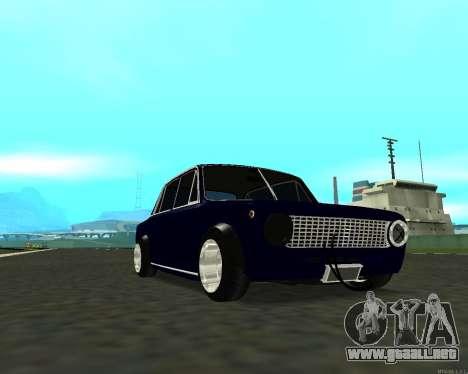 VAZ 2101 bebé v3 para la visión correcta GTA San Andreas