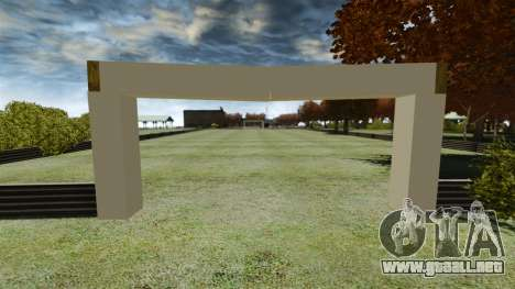 Campo de fútbol para GTA 4 segundos de pantalla