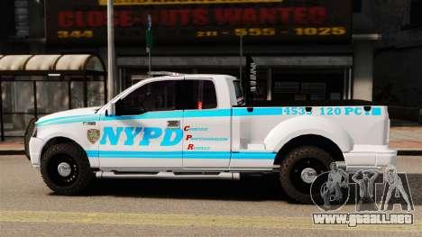Ford F-150 v3.3 NYPD [ELS & EPM] v3 para GTA 4 left