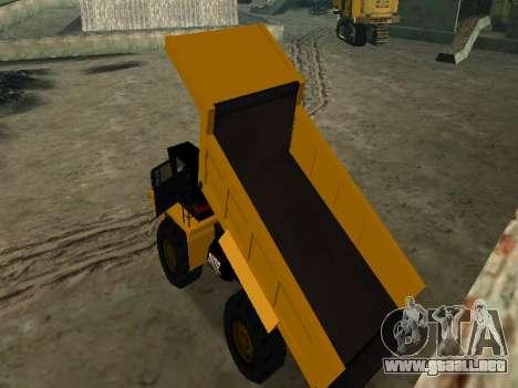 Dumper nuevo para GTA San Andreas interior