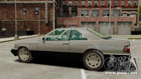 Mercedes-Benz W124 Coupe para GTA 4 left