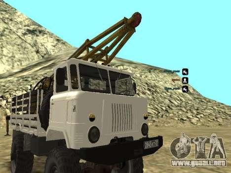 Perforación de gas 66 para visión interna GTA San Andreas