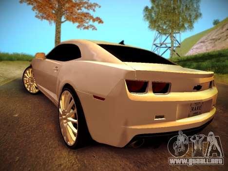 Chevrolet Camaro SS Tuning para GTA San Andreas left