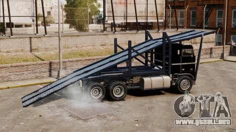 Packer-trampolín para GTA 4 left