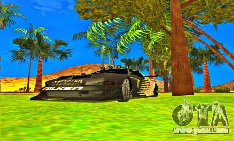 Infernus Rally Moster Energy 2012 para GTA San Andreas left