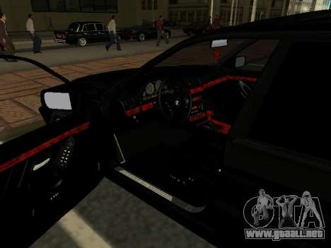 BMW 740I para visión interna GTA San Andreas