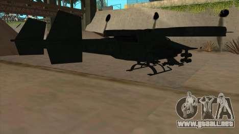 AT-99 Scorpion Gunship from Avatar para la visión correcta GTA San Andreas