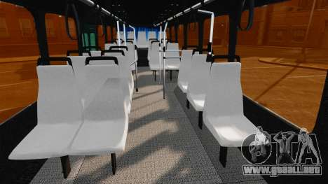 Mercedes-Benz O457 para GTA 4 vista interior