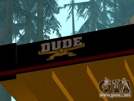 Dumper nuevo para la visión correcta GTA San Andreas