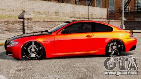 BMW M6 para GTA 4 left