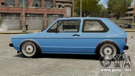 Volkswagen Golf MK1 GTI ToneBee EDITED para GTA 4 left
