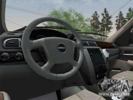 Dodge Ram Ambulance BCFD Paramedic 100 para vista inferior GTA San Andreas