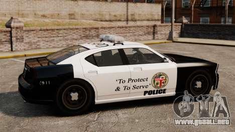 Buffalo policía LAPD v2 para GTA 4 left