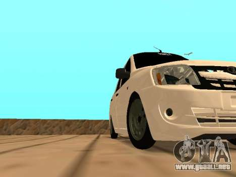 Lada Granta para GTA San Andreas left