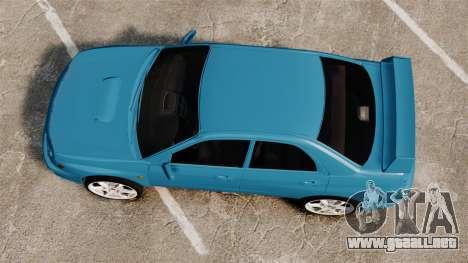 Subaru Impreza para GTA 4 visión correcta