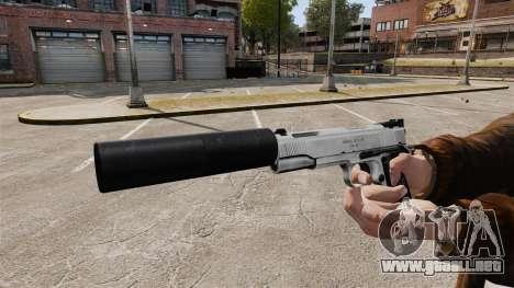 Pistola Colt 1911 para GTA 4 adelante de pantalla