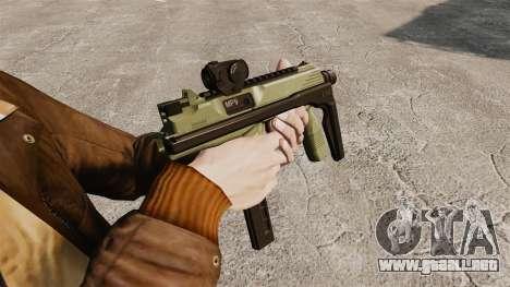 MP9 subfusil ametrallador táctico v2 para GTA 4 segundos de pantalla