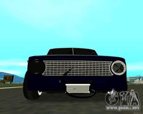 VAZ 2101 bebé v3 para GTA San Andreas vista posterior izquierda