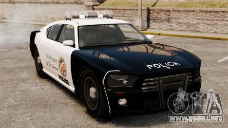 Buffalo policía LAPD v2 para GTA 4