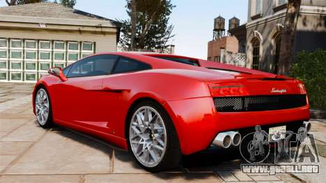 Lamborghini Gallardo LP560-4 [Final] v2 para GTA 4 left