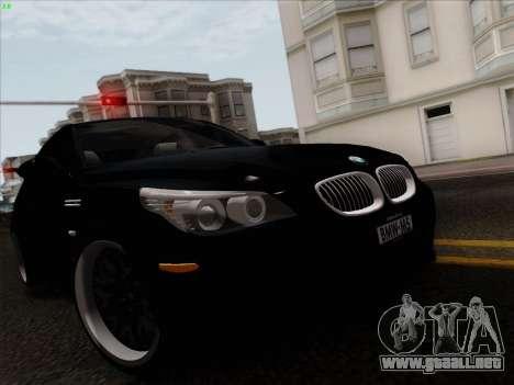 BMW M5 Hamann para la visión correcta GTA San Andreas