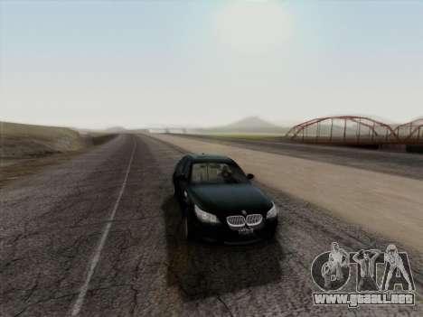 BMW M5 Hamann para vista lateral GTA San Andreas