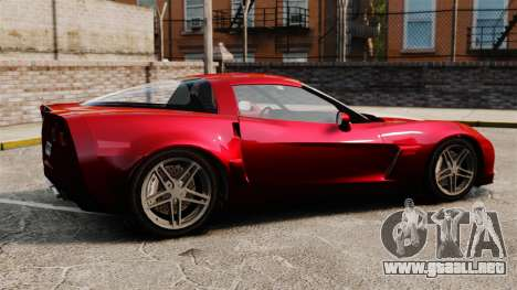 Chevrolet Corvette C6 Z06 V1.1 para GTA 4 left