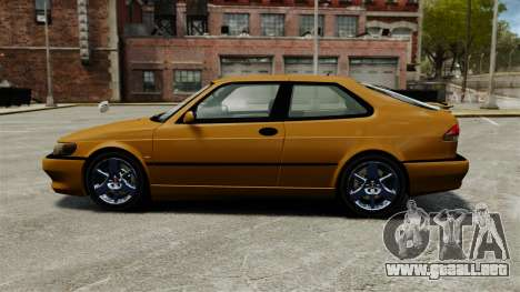Saab 9-3 Aero Coupe 2002 para GTA 4 left