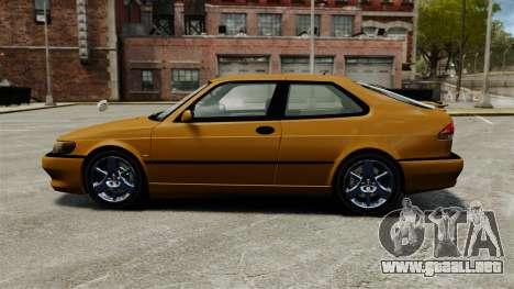 Saab 9-3 Aero Coupe 2002 para GTA 4 left
