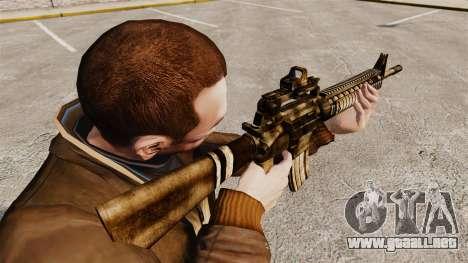 El fusil M16A4 para GTA 4 segundos de pantalla