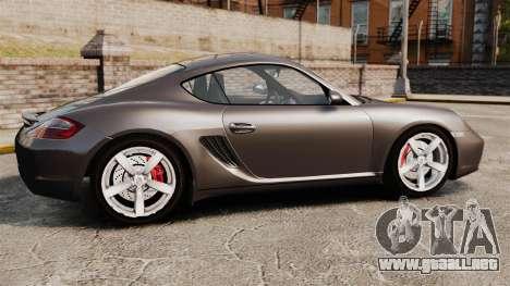 Porsche Cayman S para GTA 4 left