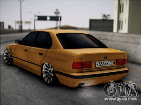 BMW M5 E34 para GTA San Andreas left