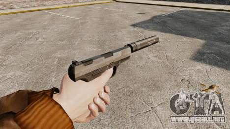 Walther P99 pistola semi-automática v2 para GTA 4 segundos de pantalla