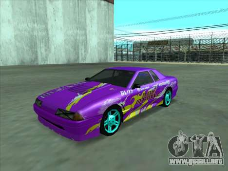 Drift elegy by KaMuKaD3e para GTA San Andreas interior