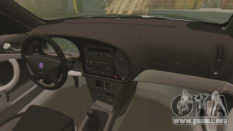 Saab 9-3 Aero Coupe 2002 para GTA 4 vista lateral