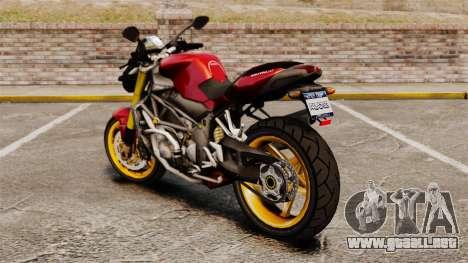 MV Agusta Brutale v1 para GTA 4 left