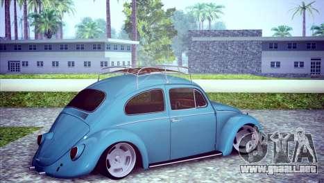 Volkswagen Beetle 1966 para la visión correcta GTA San Andreas