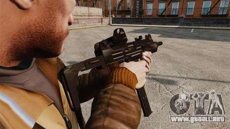 V3 Uzi Tactical para GTA 4