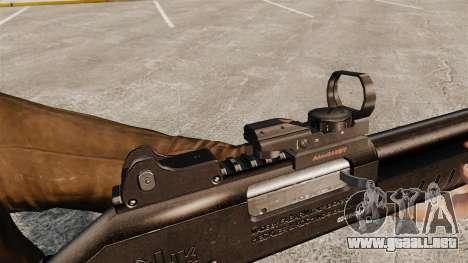 Táctica escopeta Fabarm SDASS fuerzas Pro v3 para GTA 4 adelante de pantalla