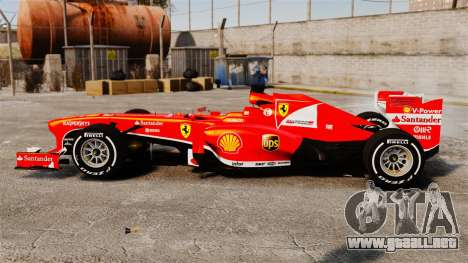 Ferrari F138 2013 v4 para GTA 4 left